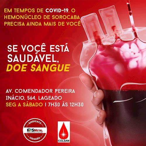 Doe sangue e salve vidas