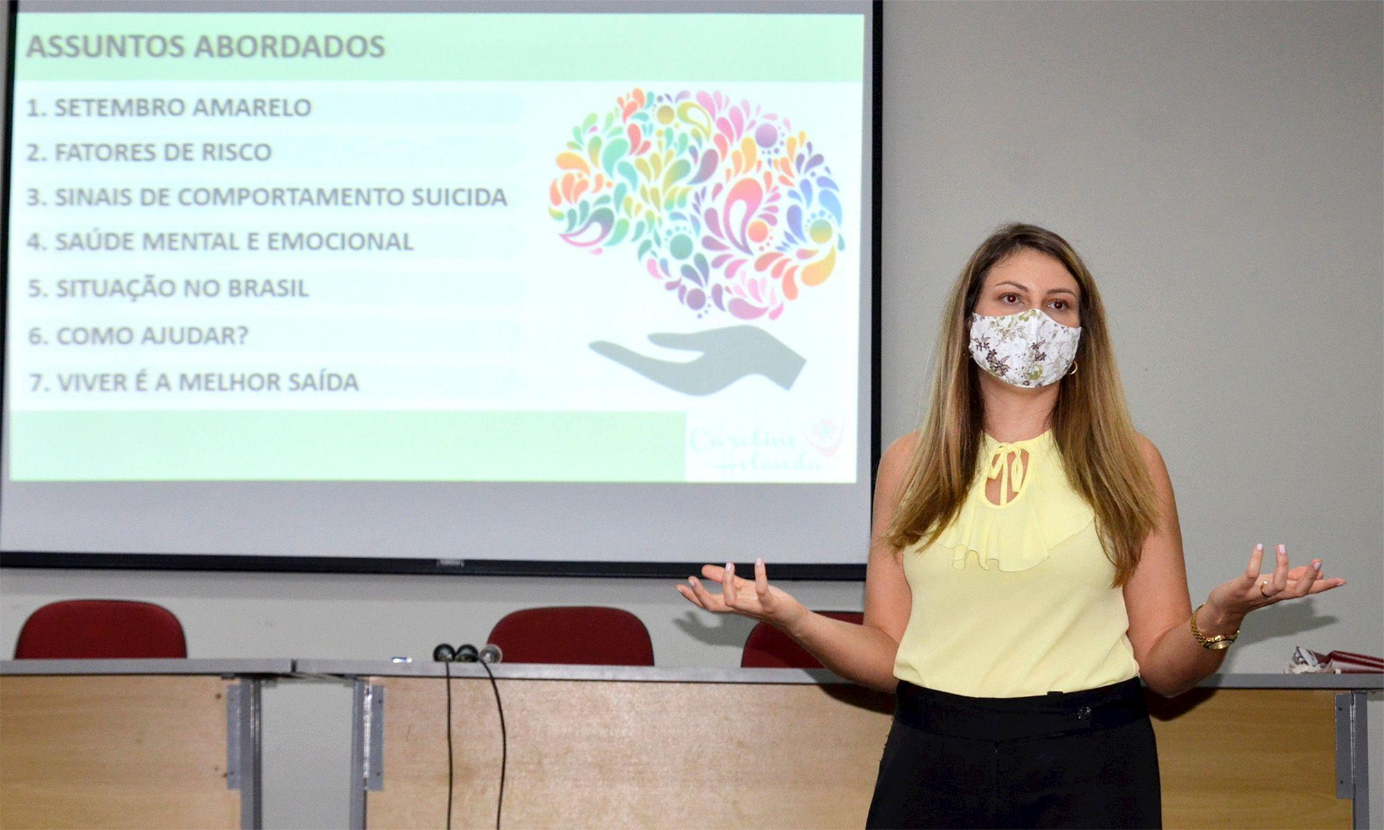 setembro, amarelo, caroline, brasil, depressão,, Daniela Gaspari/Imprensa SMetal