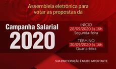 Rumo da Campanha Salarial 2020 será decidido em Assembleia Eletrônica