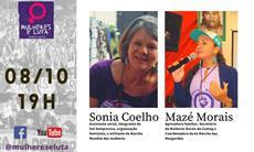 A resistência feminista é tema de live desta quinta-feira, 8