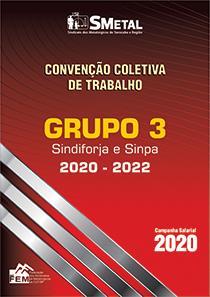 Convenção Coletiva 2020-2022 - Grupo 3 (SINDIFORJA SINPA)