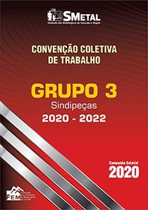 Convenção Coletiva 2020-2022 - Grupo 3 (SINDIPEÇAS)