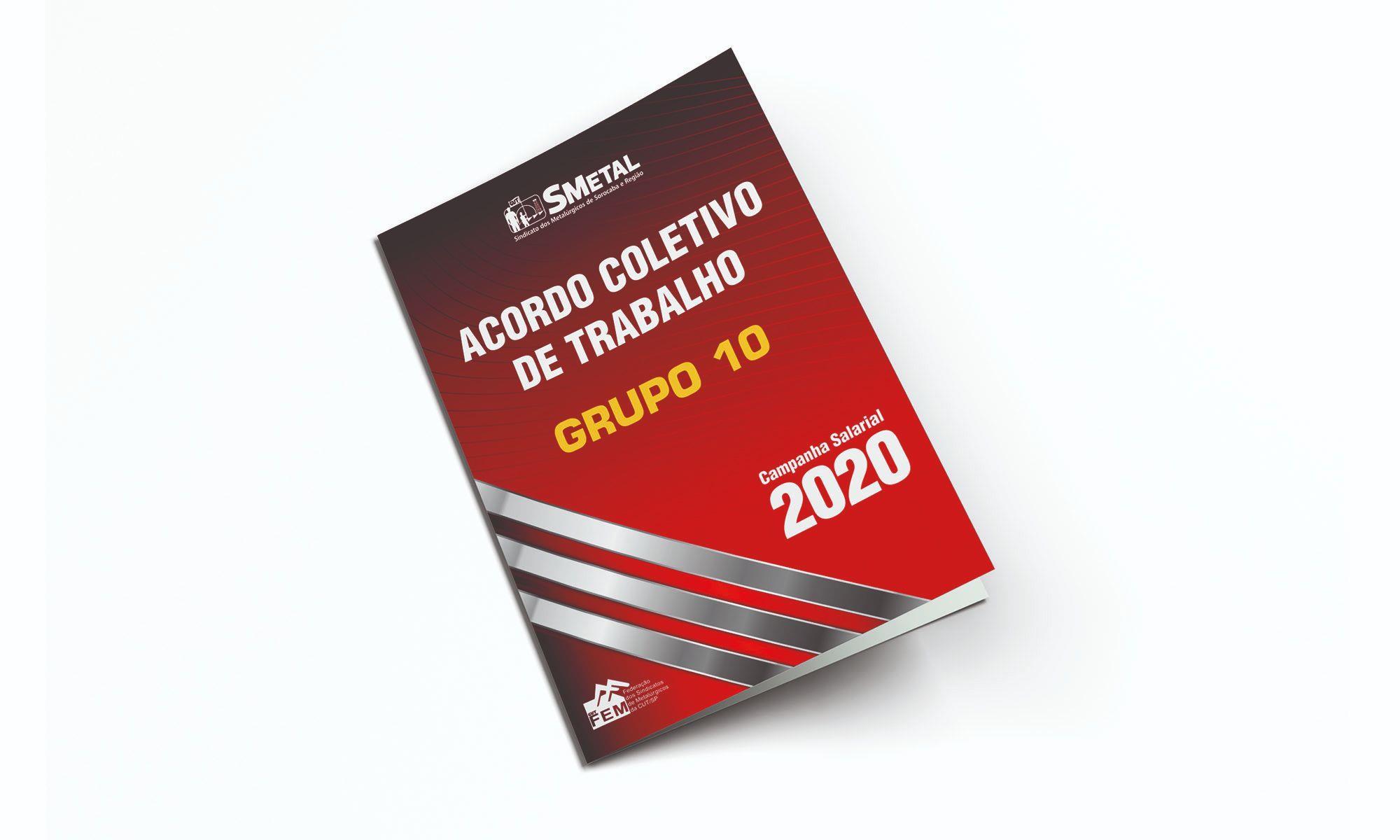 acordo, coletivo, grupo 10, g10, campanha,, Divulgação