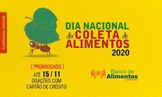 Dia Nacional da Coleta de Alimentos tem doações prorrogadas até 15/11