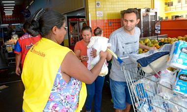 Solidariedade protagoniza o Dia Nacional da Coleta de Alimentos