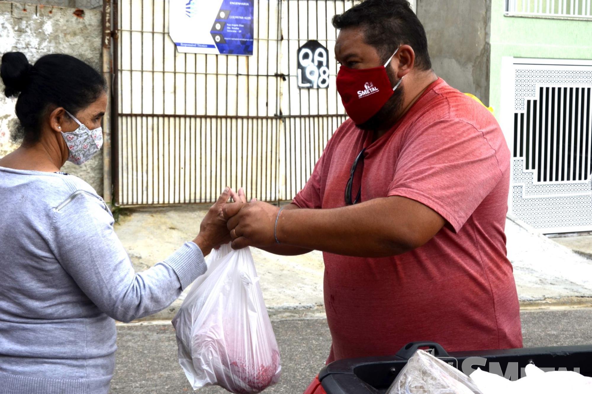 Caroline Queiróz Tomaz/Imprensa SMetal , Natal sem Fome doa 1, 1 mil cestas em Sorocaba e região; confira as fotos
