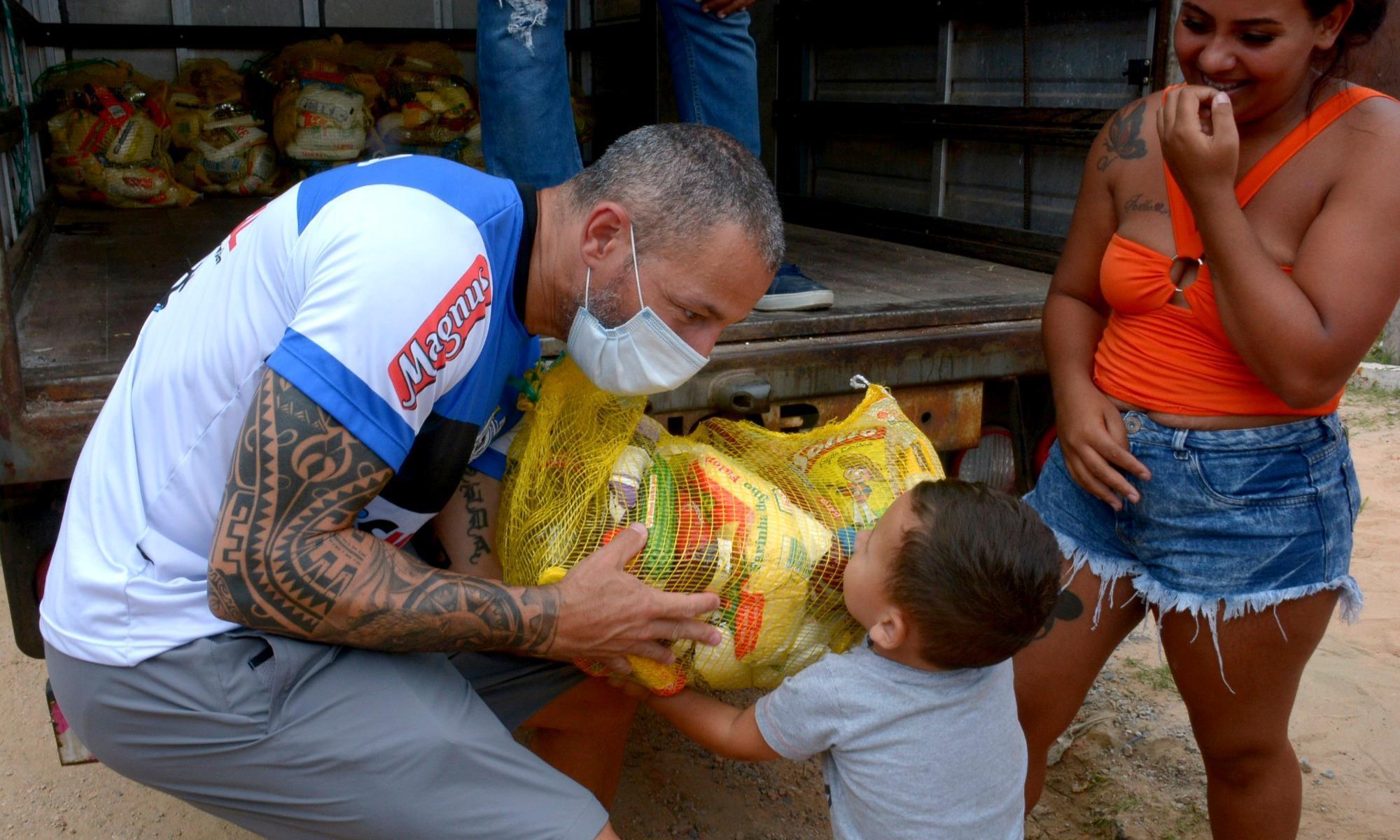 natal sem fome , dezembro, 2020, imprensa, Foguinho/Imprensa SMetal