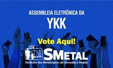 Assembleia Eletrônica dos trabalhadores da YKK; vote aqui