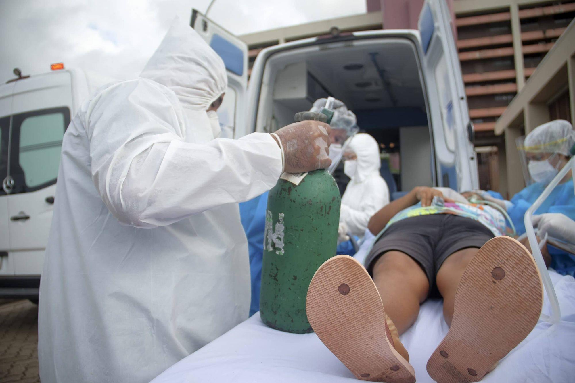 paciente, covid, tranferencia, Pedro Guerreiro / Ag. Pará - fotos públicas