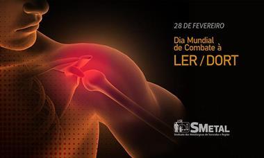 LER/DORT é uma das principais causas de afastamento do trabalho