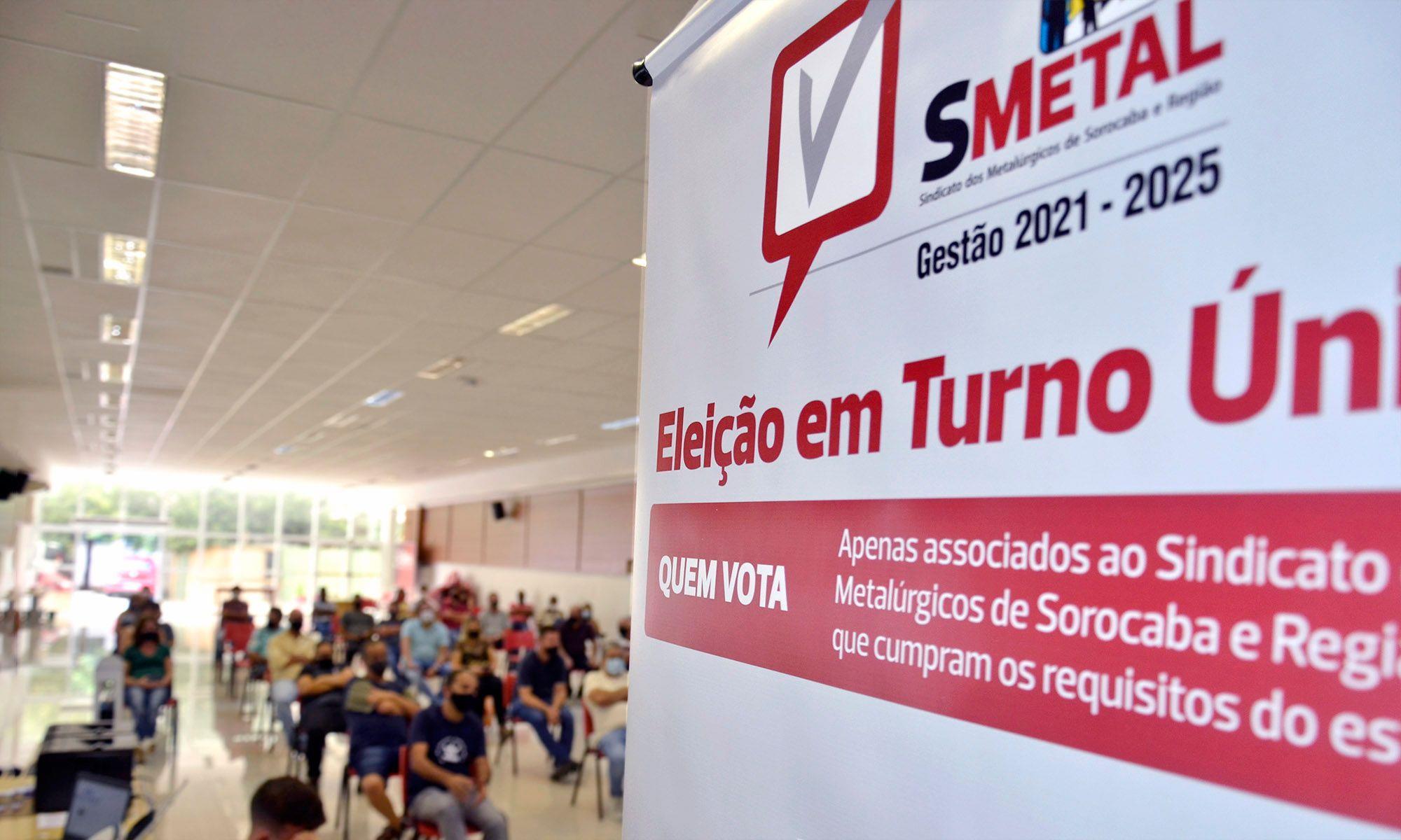 mesario, treinamento, eleição,, Daniela Gaspari / Imprensa SMetal