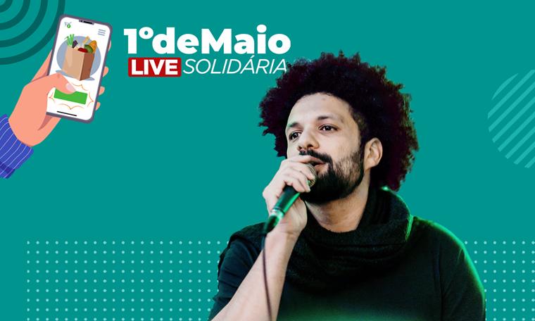 1 de maio, trabalhador, comida, solidário, live, smetal, , Divulgação