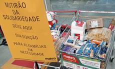 Banco de Alimentos arrecada doações em parceria com Instituto SOS Gente