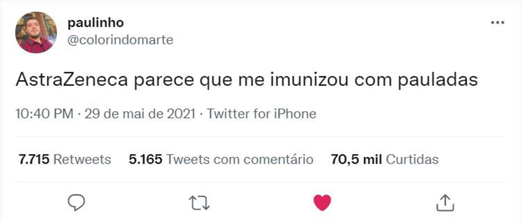 #me, carolzinha, 2021, imprensa, Reprodução - Twitter
