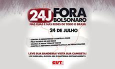 """Manifestações: Sorocaba terá ato """"Fora Bolsonaro"""" neste sábado, 24"""