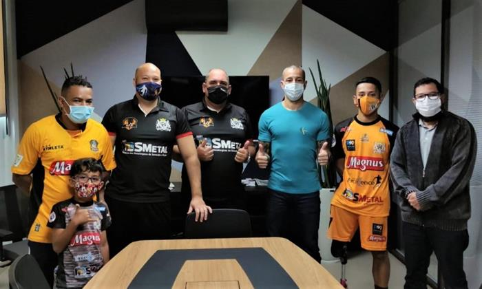 SMetal renova parceria com a Associação Sorocaba Futebol de Amputados
