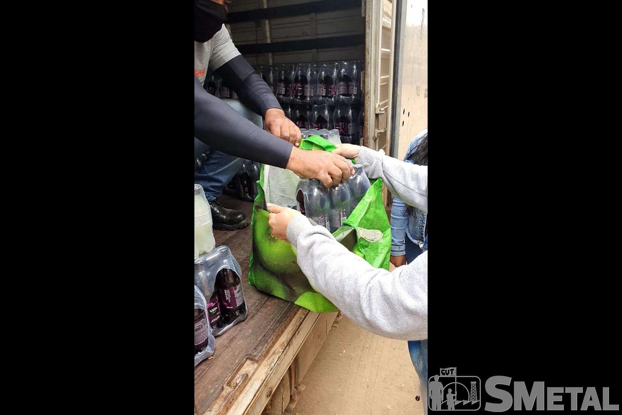 Banco de Alimentos entrega mais de 60 mil sucos doados pela Sorocaba Refrescos