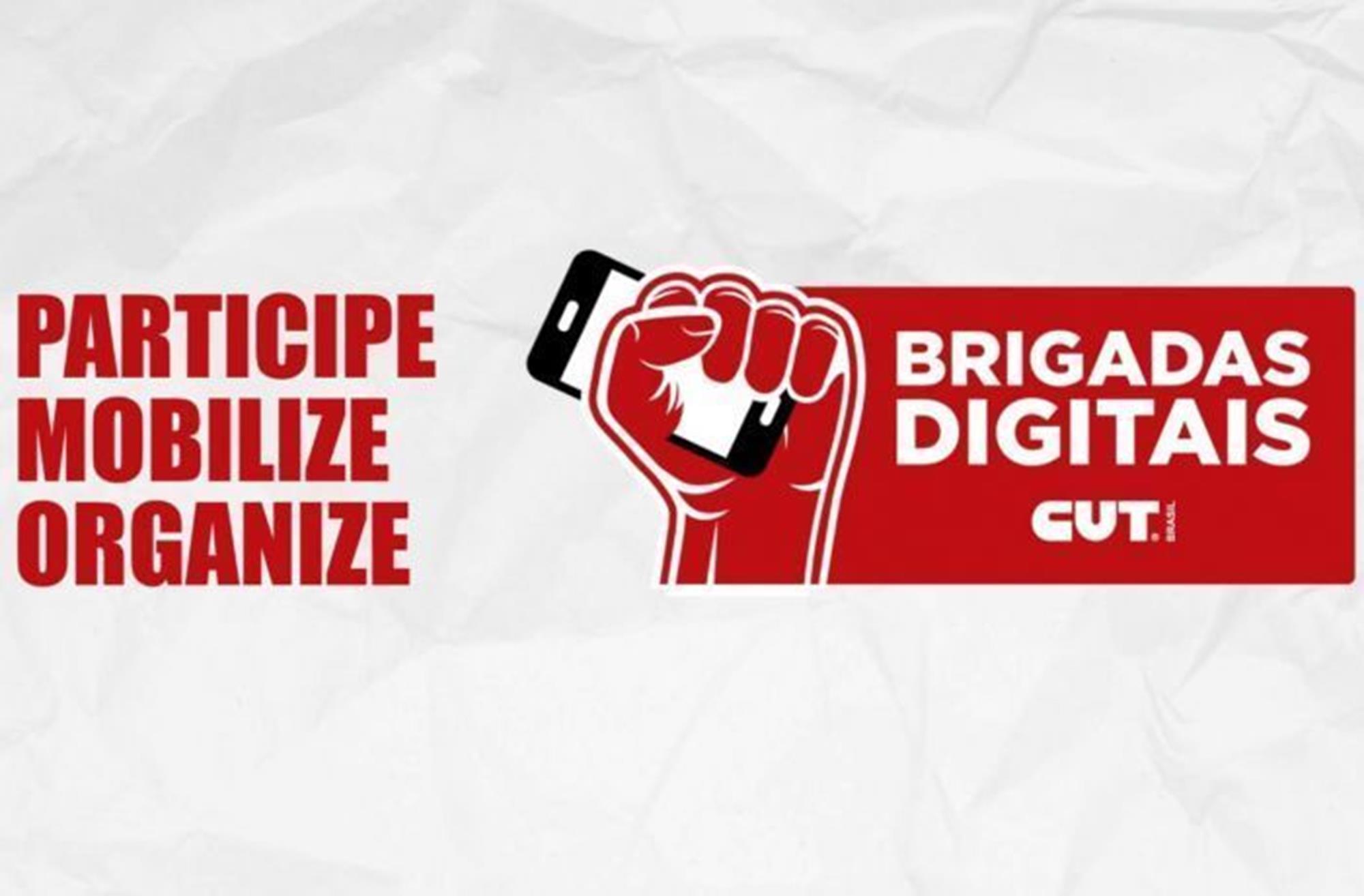 cut, brigada, digital, comunicação,, Divulgação