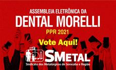 Assembleia Eletrônica dos trabalhadores da Dental Morelli; vote aqui