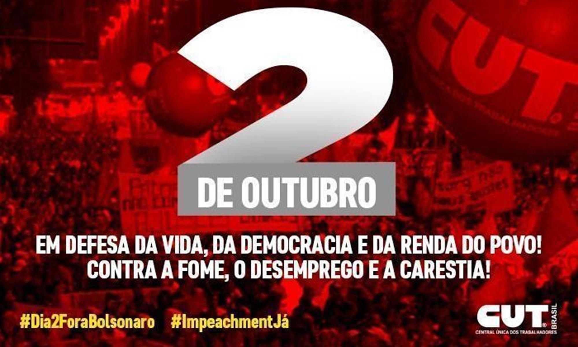 cut, ato, mobilização, bolsonaro,, Divulgação