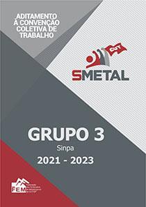 Aditamento à Convenção Coletiva 2021-2023 - Sinpa