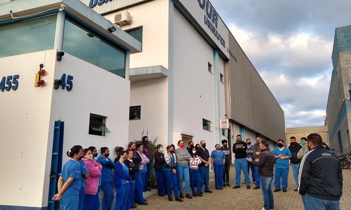 Assembleia: SMetal vai à empresa B'Four conversar com trabalhadores